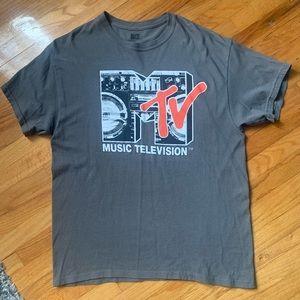 Vintage Men's Large MTV shirt